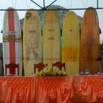 surfboards as backdrop :)