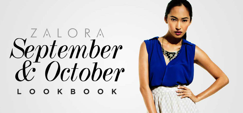 Zalora September & October Lookbook